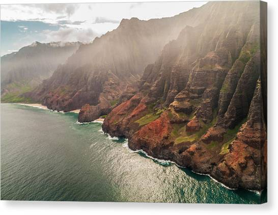 Na Pali Coast 4 - Kauai Hawaii Canvas Print