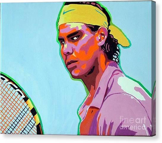 Rafael Nadal Canvas Print - Nadal by Gail Zavala