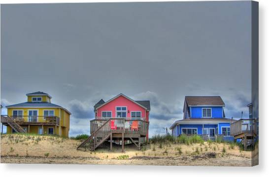 Nags Head Doll Houses Canvas Print