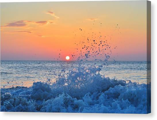 Nags Head Sunrise 7/15/16 Canvas Print