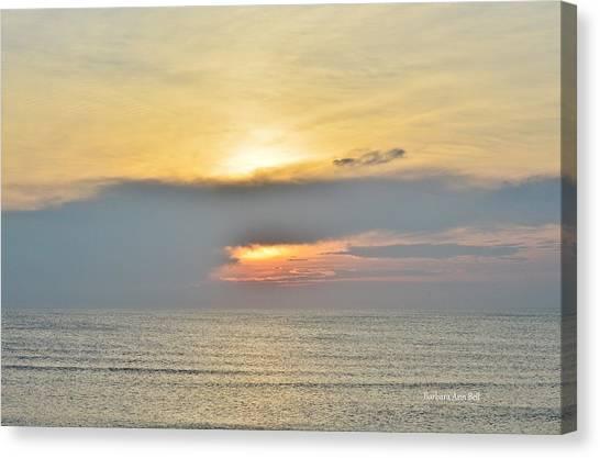 Nags Head Sunrise 7/24/16 Canvas Print