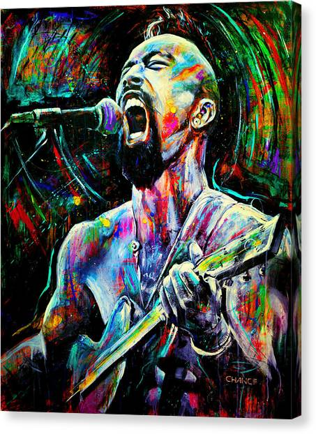 Nahko Bear Canvas Print