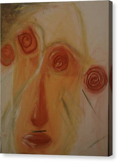 Ceramics Canvas Print - Naivety by Carmen Kolcsar