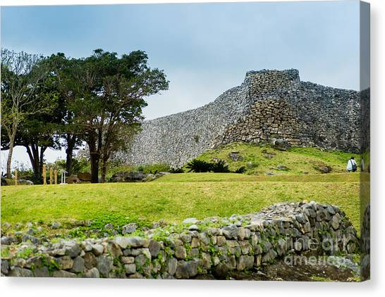 Nakajin Castle Canvas Print