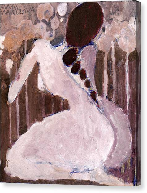 Naked Dream Canvas Print