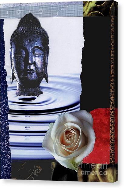 Namaste Canvas Print by Pederbeck Arte Gruppe