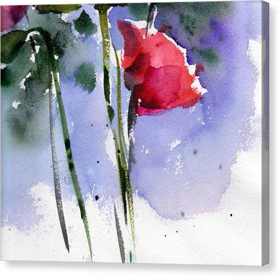 Nancy Jane's Rose Canvas Print