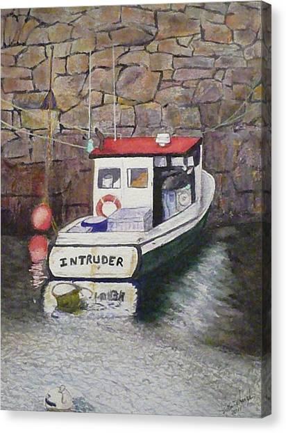Nancy's Intruder Canvas Print by Stella Schaefer