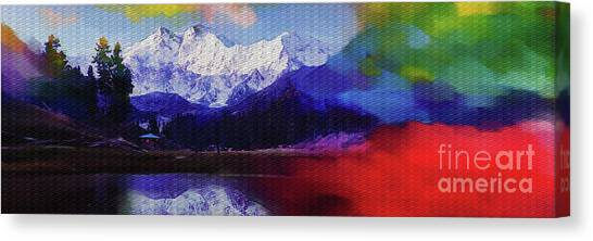 K2 Canvas Print - Nanga Perbat  by Gull G