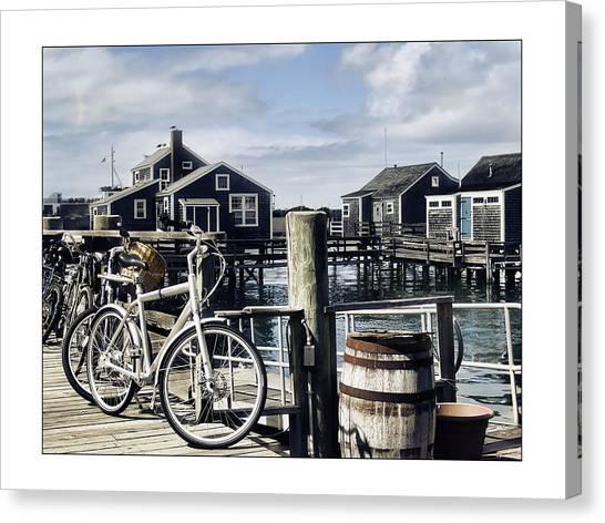 Nantucket Bikes 1 Canvas Print