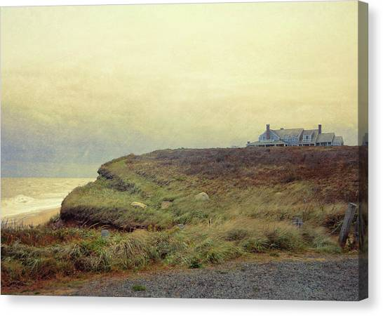 Nantucket Bluff Canvas Print by JAMART Photography