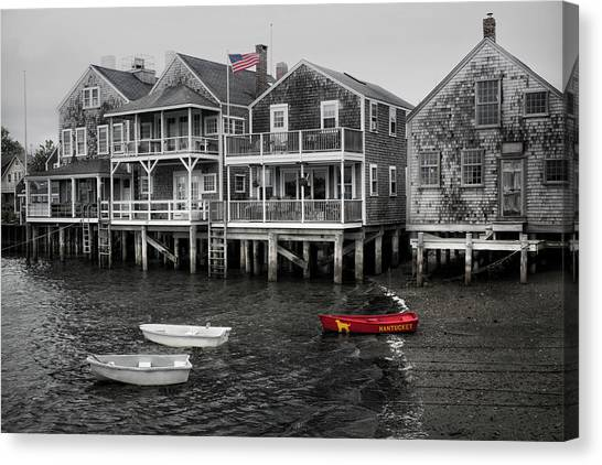Nantucket In Bw Series 6139 Canvas Print