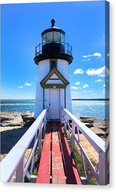 Nantucket Lighthouse - Y3 Canvas Print