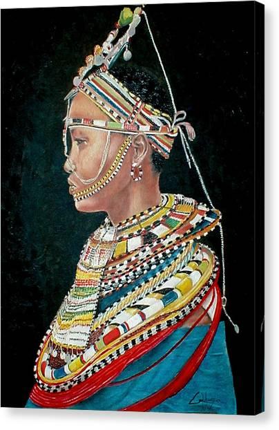 Nanu Canvas Print by G Cuffia