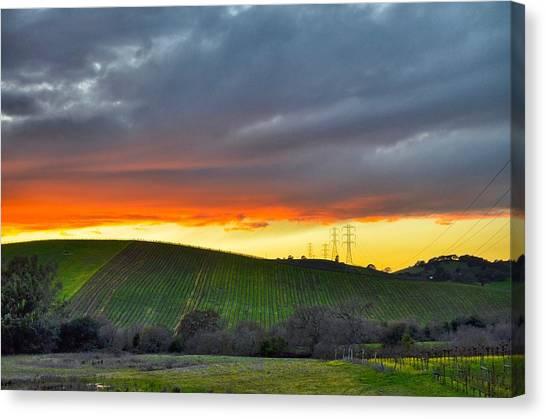 Napa Sunrise Canvas Print
