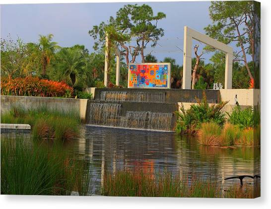 Naples Botanical Garden Canvas Print