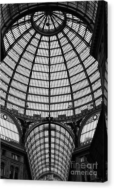 Naples Galleria Canvas Print by John Rizzuto