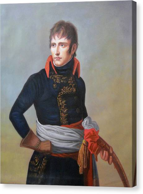 Napoleon Bonaparte As First Consul Canvas Print