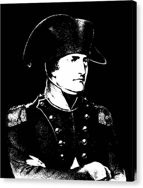 Military Canvas Print - Napoleon Bonaparte by War Is Hell Store