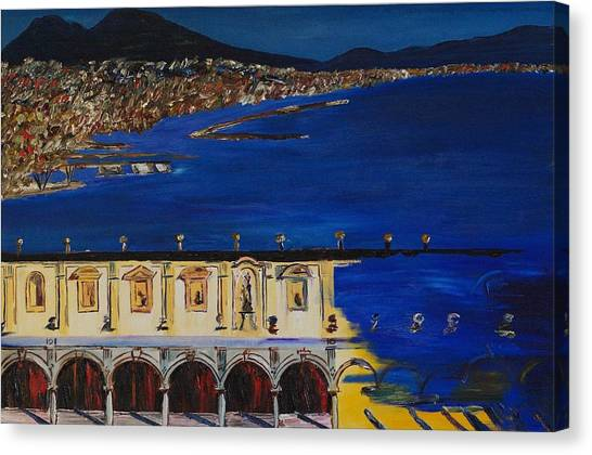 Napoli Canvas Print by Gregory Allen Page