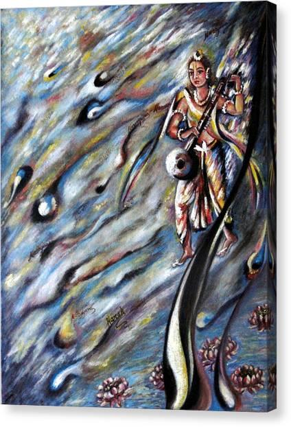 Narada Muni Canvas Print