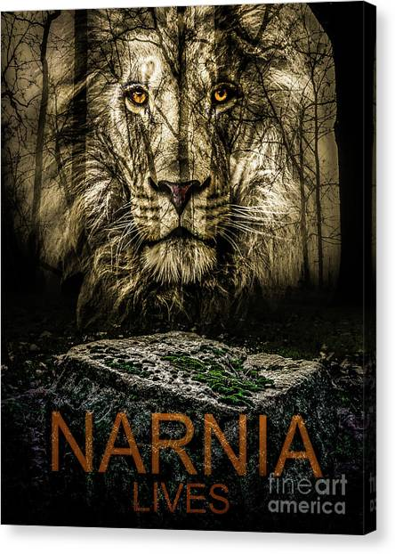 Canvas Print featuring the photograph Narnia Lives by Michael Arend