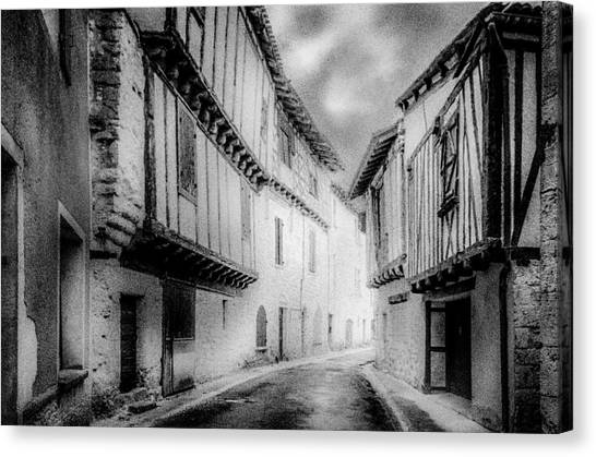 Narrow Alley Canvas Print