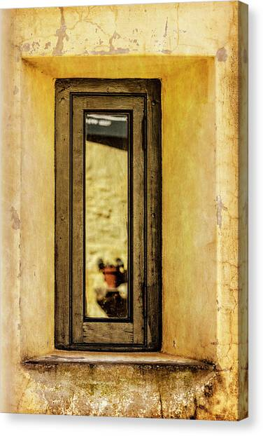 Narrow Reflections Canvas Print