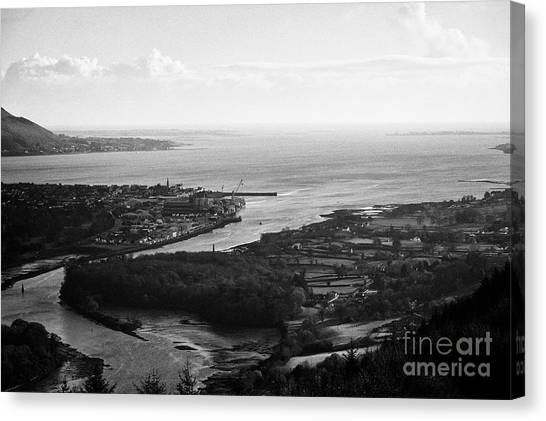 Brexit Canvas Print - Narrow Water In Carlingford Lough Straddling The Irish Border by Joe Fox
