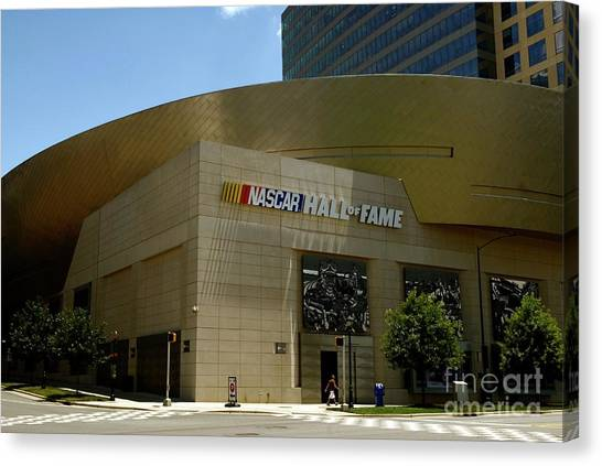 Nascar Hall Of Fame Canvas Print