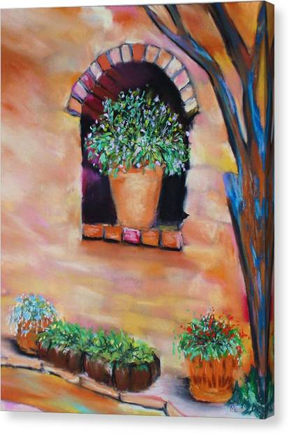 Nash's Courtyard Canvas Print
