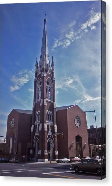 Nashville Church Canvas Print by Randy Muir