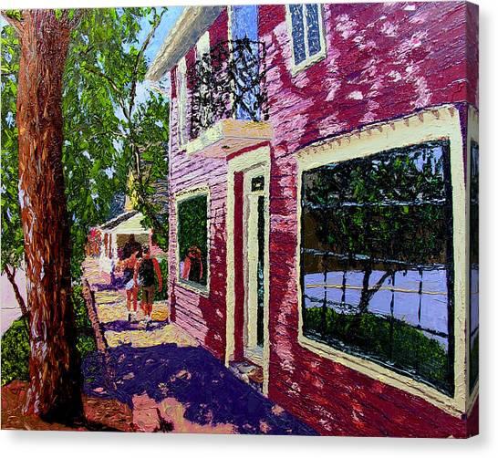 Nashville Upside Down Canvas Print by Stan Hamilton