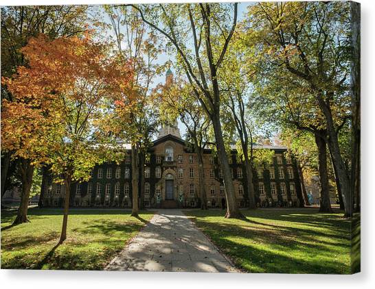 Nassau Hall Princeton University Canvas Print