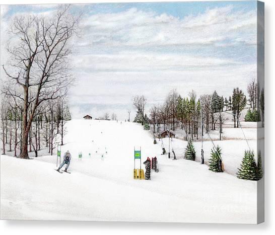Nastar At Seven Springs Mountain Resort Canvas Print