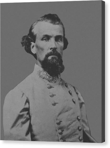 History Canvas Print - Nathan Bedford Forrest by War Is Hell Store