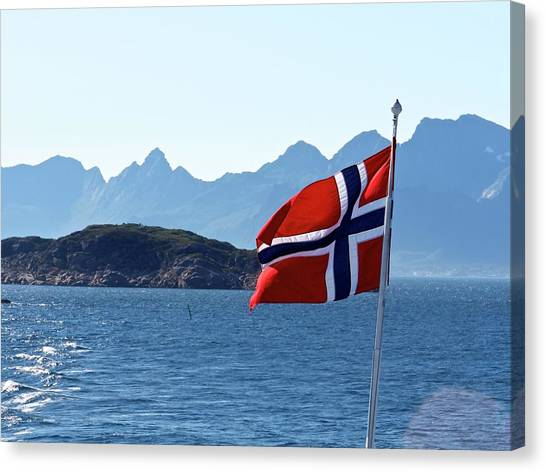 National Day Of Norway In May Canvas Print