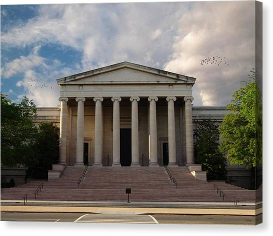 D.c. United Canvas Print - National Gallery Of Art - Washington D. C. by Glenn McCarthy Art and Photography