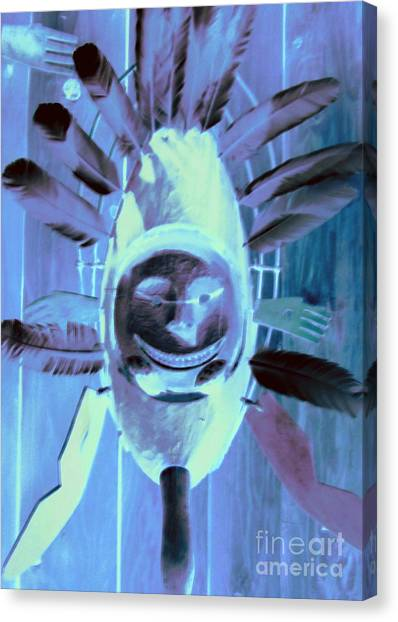 Smithsonian Museum Canvas Print - National Museum Of The American Indian 9 by Randall Weidner