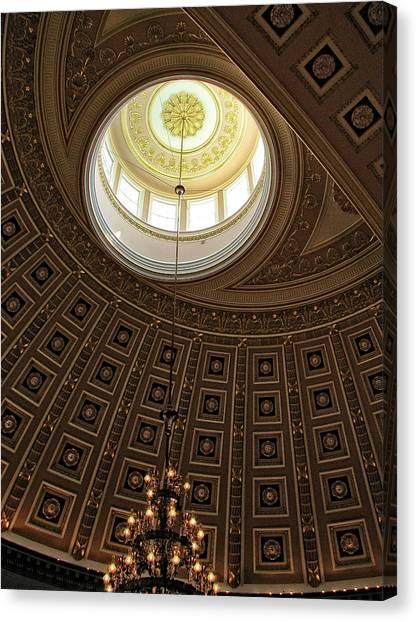 National Statuary Hall Ceiling Canvas Print