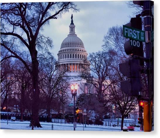 Nations Capitol Canvas Print