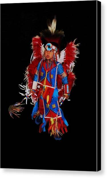Native American Dancer Canvas Print