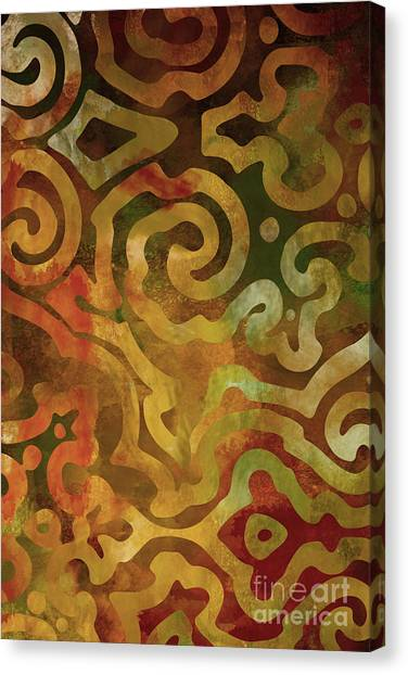 Autumn Canvas Print - Native Elements Earth Tones by Mindy Sommers