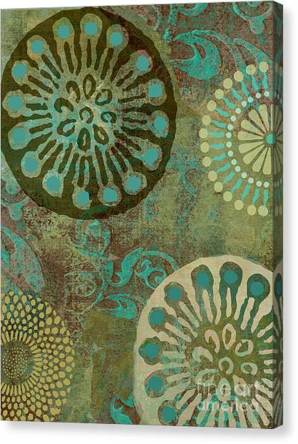 Moroccon Canvas Print - Native Elements by Mindy Sommers