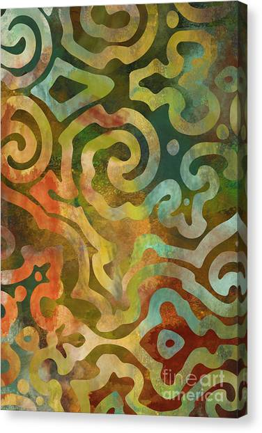 Autumn Art Canvas Print - Native Elements Multicolor by Mindy Sommers