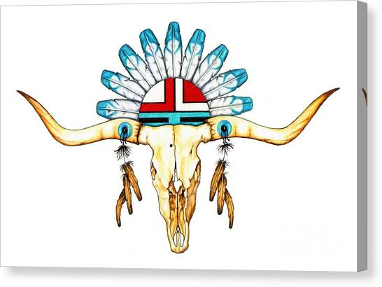 Native Guide Canvas Print