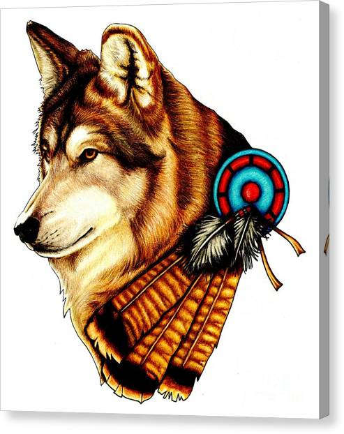 Native Spirit Canvas Print