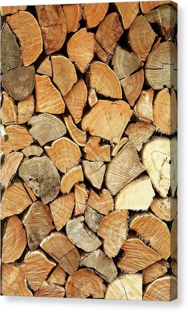 Susann Serfezi Canvas Print - Natural Wood by AugenWerk Susann Serfezi