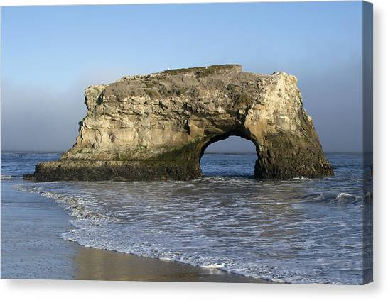 Natural Bridges State Park - Santa Cruz - California Canvas Print
