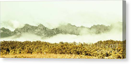 Winter Scenery Canvas Print - Natural Mountain Beauty by Jorgo Photography - Wall Art Gallery